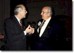 United States Senator Phil Gramm and Hilmar von Campe